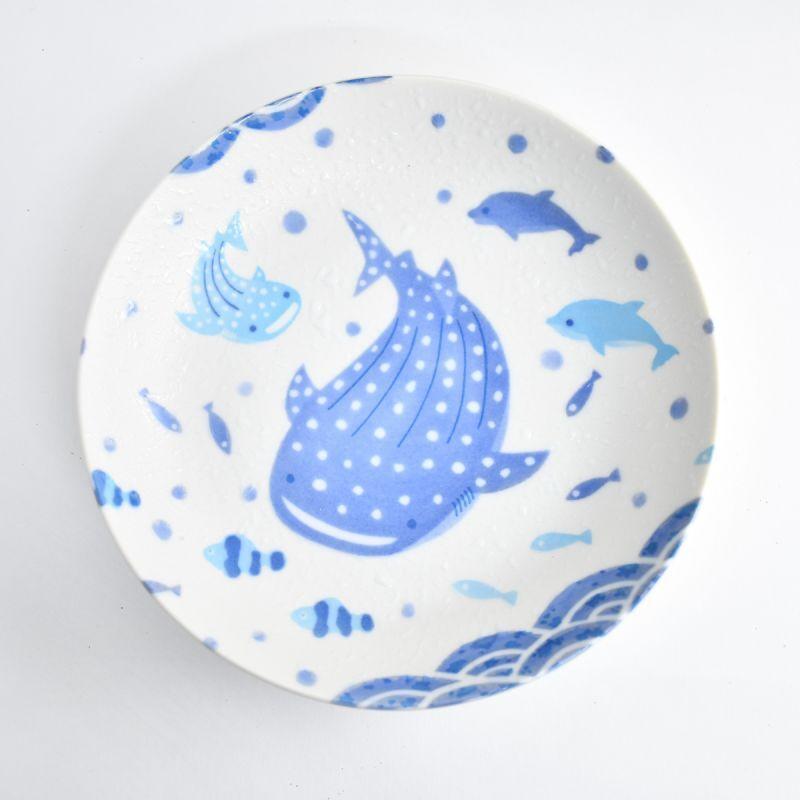 画像1: じんべい6.0麺皿 (1)