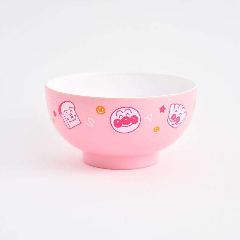 画像1: アンパンマン 塗汁椀 ピンク (1)