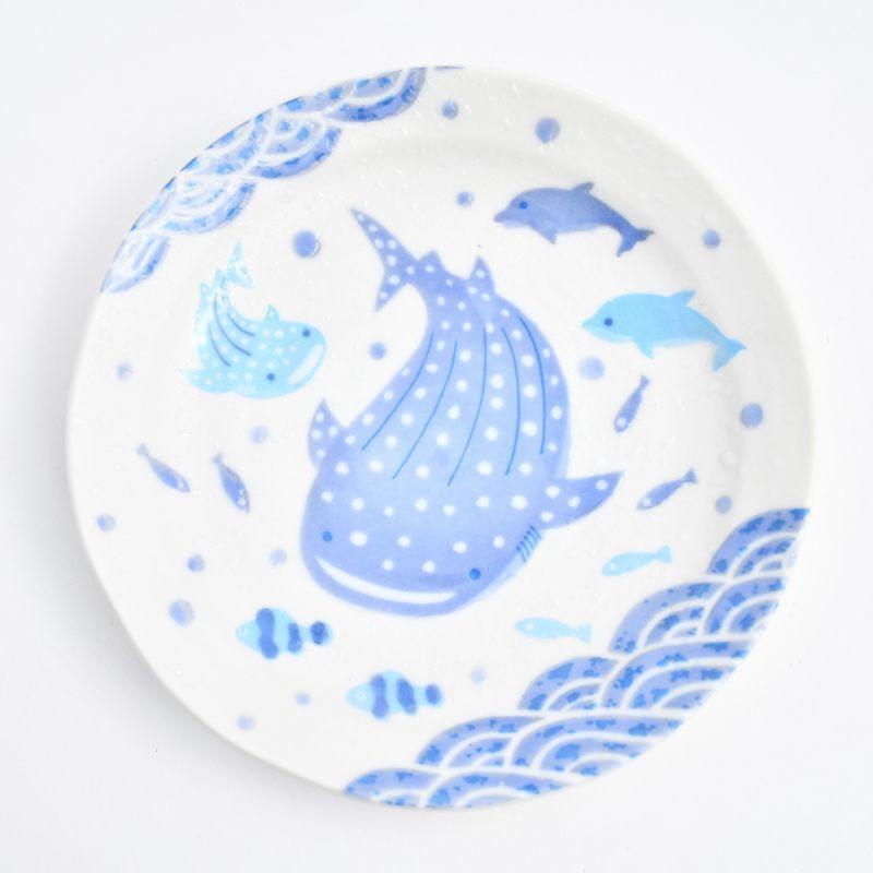 画像1: じんべい5.0皿 (1)