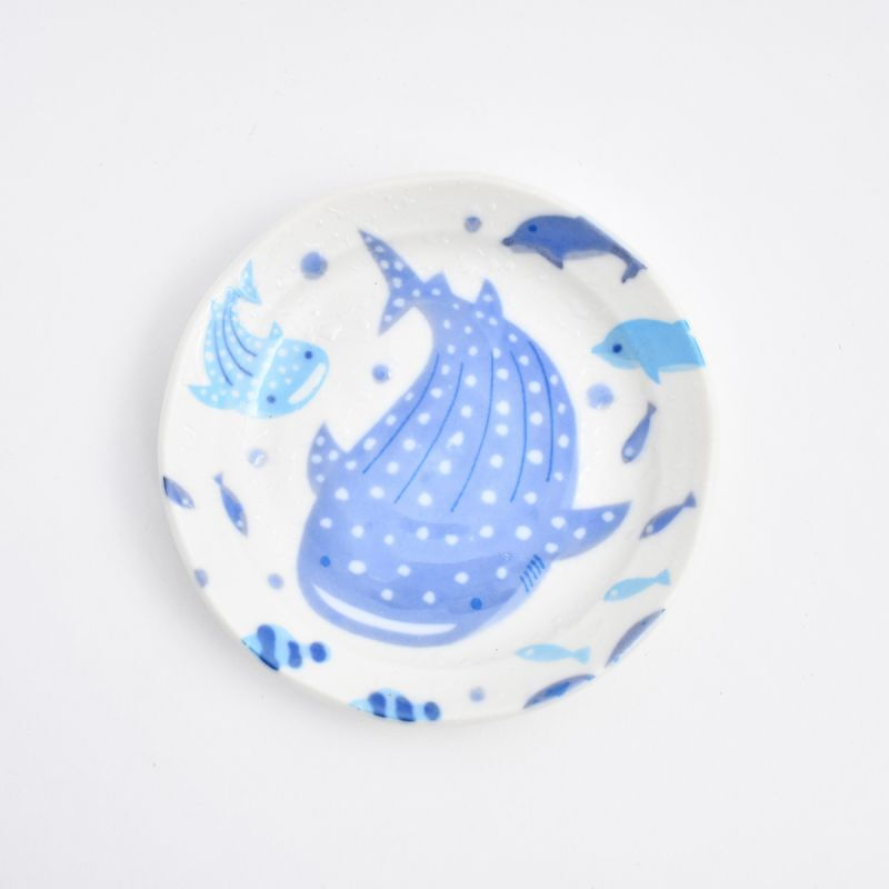 画像1: じんべい3.5皿 (1)