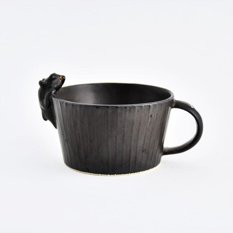 画像1: くまスープカップ ま工房 (1)
