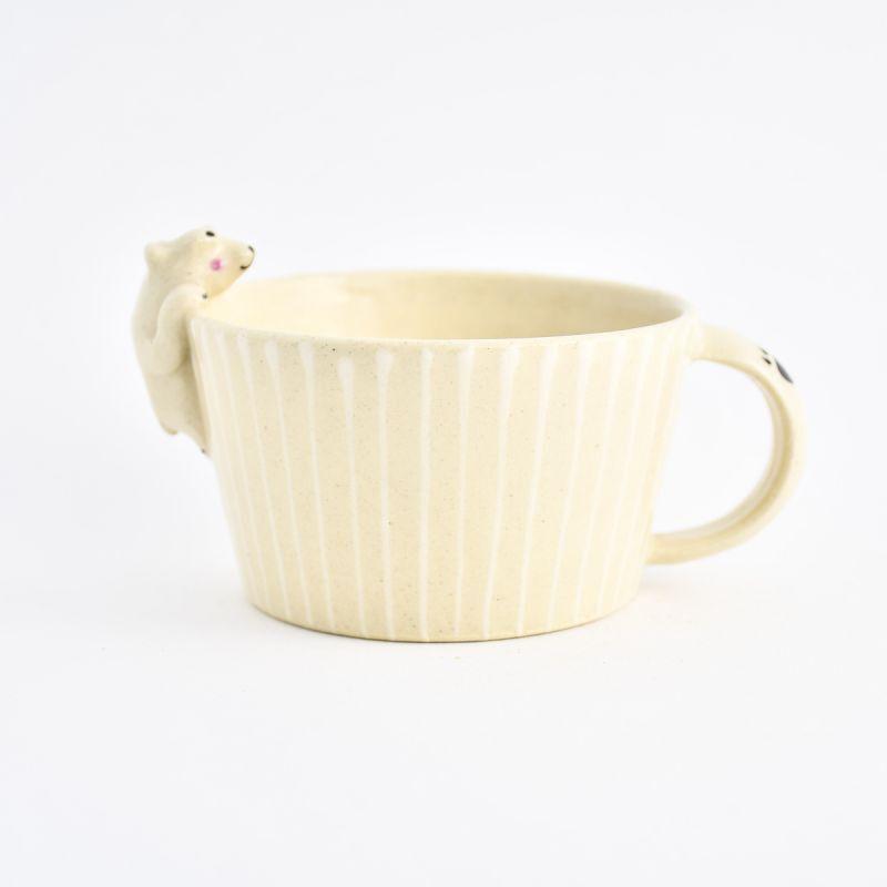 画像1: シロクマスープカップ ま工房 (1)