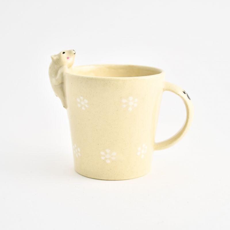 画像1: シロクママグカップ ま工房 (1)