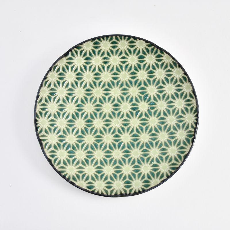 画像1: 麻の葉プレートS (1)