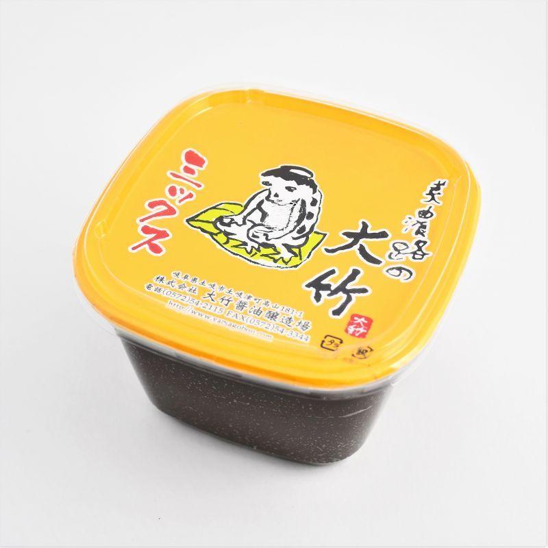 画像1: 大竹醤油 ミックス味噌 (1)