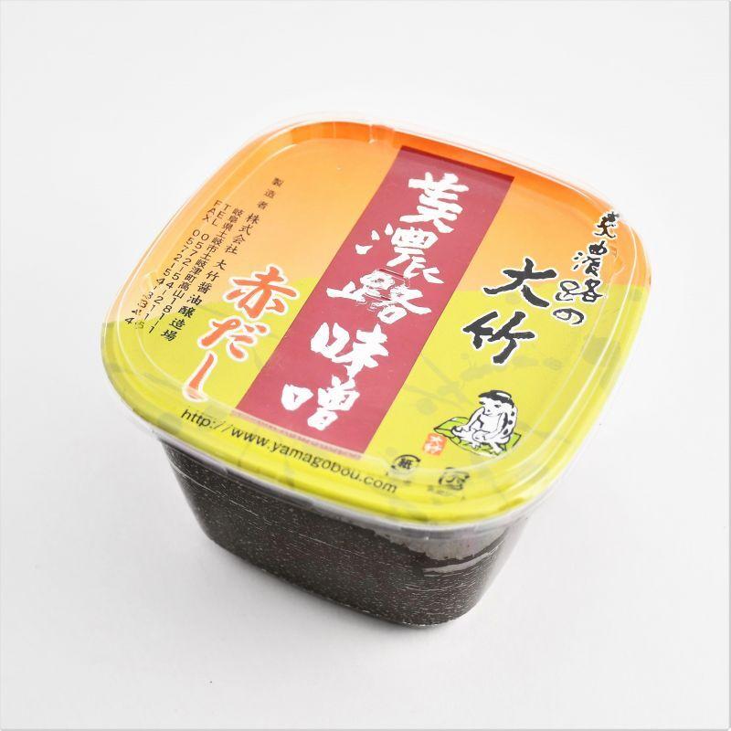 画像1: 大竹醤油 赤だし (1)