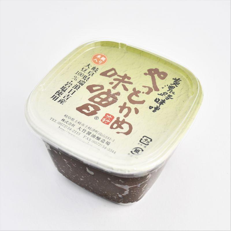 画像1: 大竹醤油 やっとかめ味噌 (1)