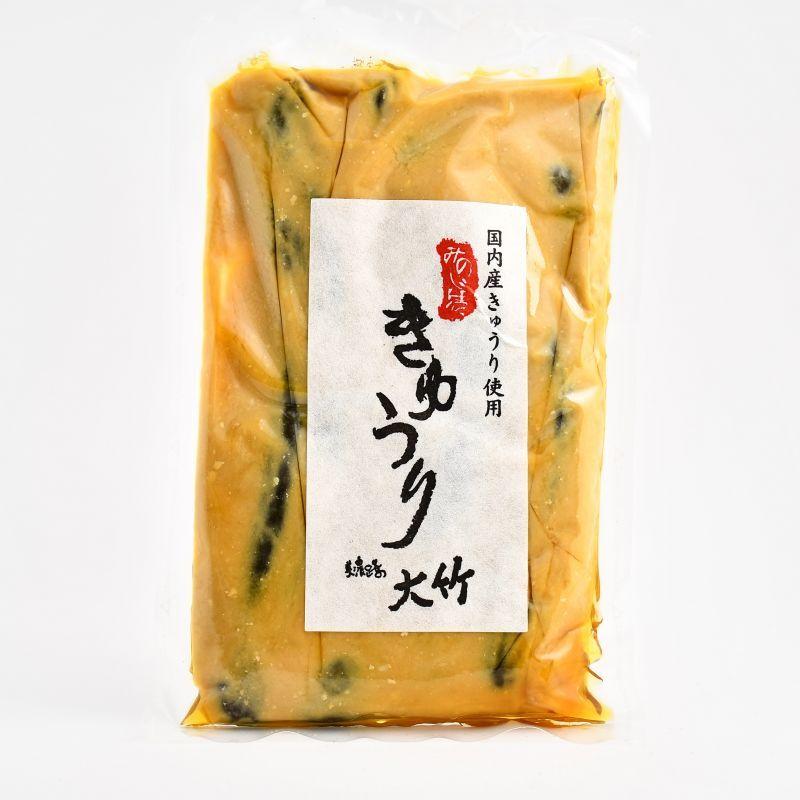 画像1: 大竹醤油 きゅうり粕漬け (1)